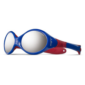 Julbo Baby Looping III Spectron 4 Sunglasses 2-4Y Blue/Red-Gray Flash Silver